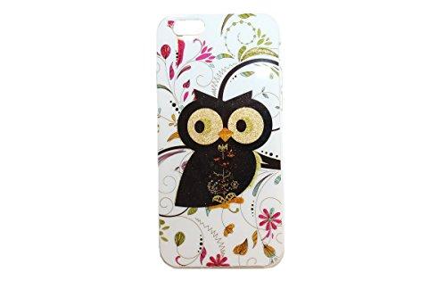 ZhinkArts Eulen Schutzhülle mit verschiedenen Motiven für IPhone & Samsung Handy Case Cover Style Bird Eule Apple IPhone 5/5S Eule M10 Eule M2