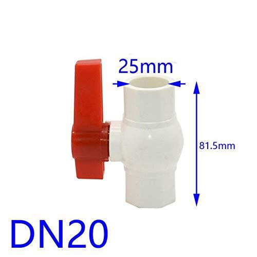 Kammas PVC-Kugelhahn, dn15 dn25, Wasserdurchflussregelventil, dn20, 1 1/2