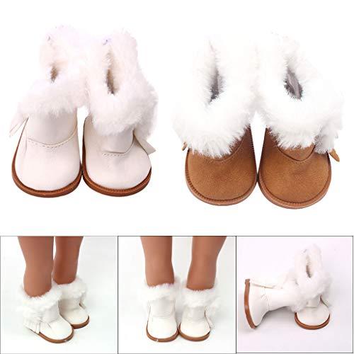 TianranRT - Muñeca de purpurina de invierno con zapatos calientes para niñas...