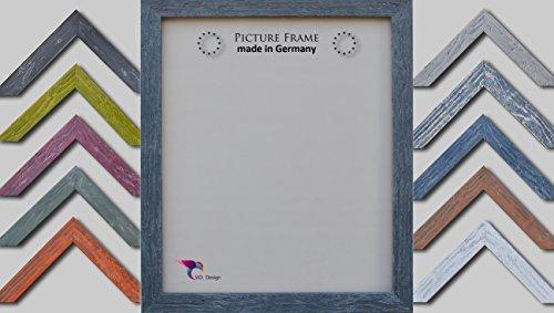 Vogel Design Bilderrahmen Nantes - Anthrazit 50x70cm 70x50cm Hier mit entspiegeltem Kunstglas