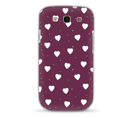 MediaDevil Grafikcase Apple iPhone 5 / 5S Hülle: Ultra Slim Edition - Blue Galaxy (Glänzend) Confetti Hearts