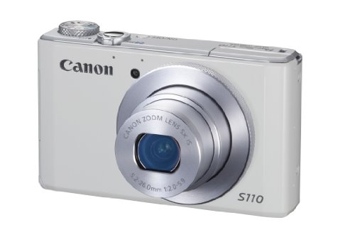 Canon Powershot S110 Digitale Kompaktkamera (12,1 Megapixel, 5-fach opt. Zoom, 7,6 cm (3 Zoll) Touchscreen, HDMI, DIGIC 5) - Canon Kamera Neueste Digital