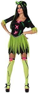 Atosa-14892 Disfraz Monstruo, Color verde, XL (8.42226E+12)