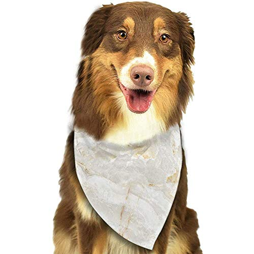 YAGEAD Hund Bandana Welpe und Haustier Bandanas, Marmor Textur Haustier Schal