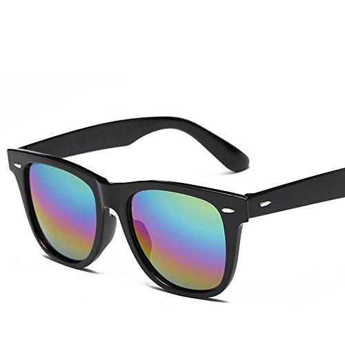 BiuTeFang Mens Sunglasses Women Square Type Spectacle Frame Flat Mirror Magnetic-Suction Myopia Set Mirror polarizing Sunglasses Driving Night Vision Glasses