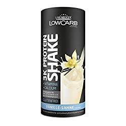 Layenberger LowCarb.one 3K Protein-Shake Vanille-Sahne, 1er Pack (1 x 360 g)