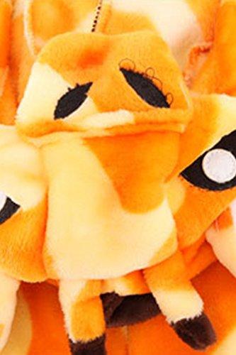 Babyonlinedress Adulte Unisexe Combinaison Pijama Pyjama Onesie Outfit Nuit Anime Animal Costume Cosplay Soirée de Déguisement Girafe