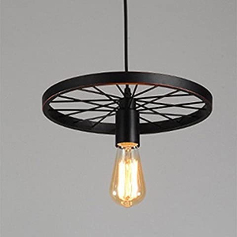 Vintage Retro Metal Hanging Pendant Light Lamp Edison Light Bulb