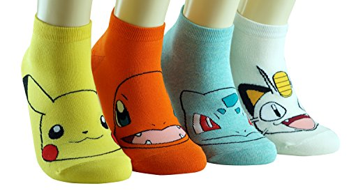 Tasche Mon Tierdruck Socken (Pikachu Kostüme Mädchen)