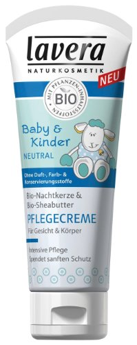 Lavera Baby und Kinder Neutral Pflegecreme, 1er Pack (1 x 75 ml)
