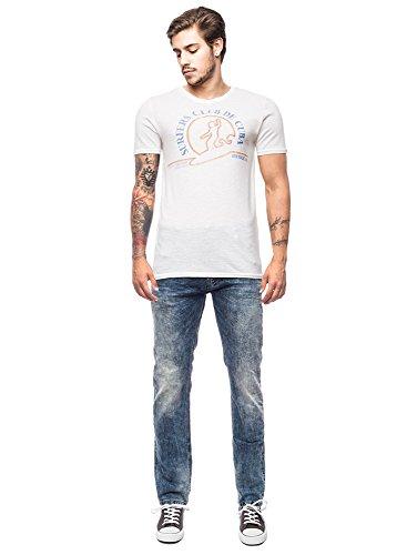 Jack & Jones Herren T-Shirt Grau (Caviar)