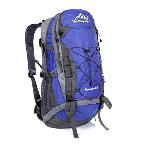 Wmshpeds 40L alpinismo pacchetto viaggio femmina borsa a tracolla impermeabile maschio zainetto G