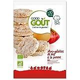 Good gout mini galettes riz pomme 40g - ( Prix Unitaire ) - Envoi Rapide Et Soignée