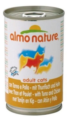 almo nature mit Thunfisch und Huhn für ausgewachsene Katzen 140g