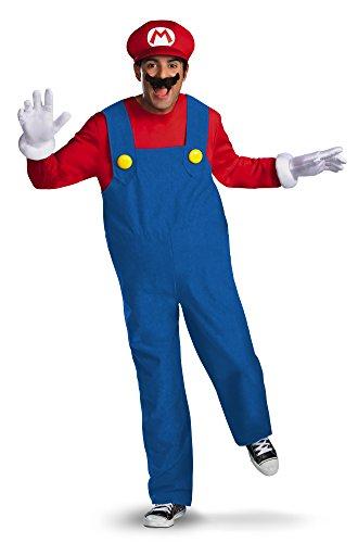 Mario Kostüm Videospiel Deluxe - Adult disguise Super Mario Deluxe