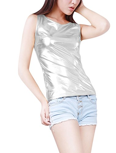 allegra-k-woman-u-neck-sleeveless-stretch-metallic-tank-top-silver-m