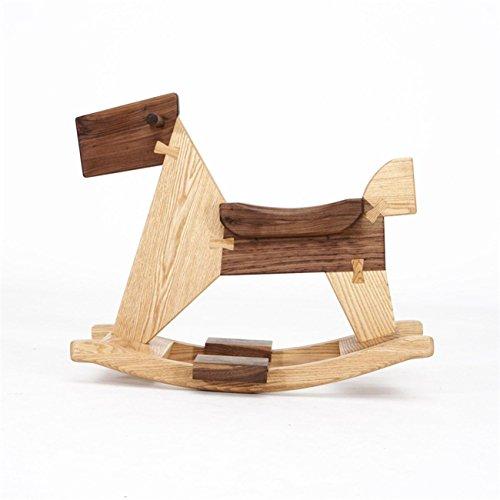 Heruai Natural Lumber Handmade Rocking Chair Sitting Stool In Children 410tjZ8uGaL