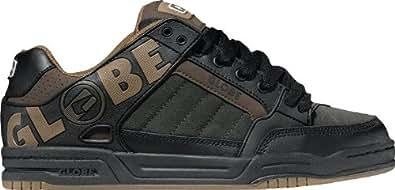 Globe Tilt Shoes - Black / Brown TPR - UK 9