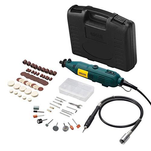 URCERI Multifunktionswerkzeug 100pcs,6 einstellbare Geschwindigkeit,120 V / 60 Hz Frequenz,135W Leistung und 35 000U/min Leerlaufdrehzahl - 60 Hz Usa-kit