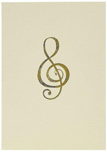 Boxed Notes: Violinschlüssel - Gruß- und Geschenkkartenbox mit Kuverts