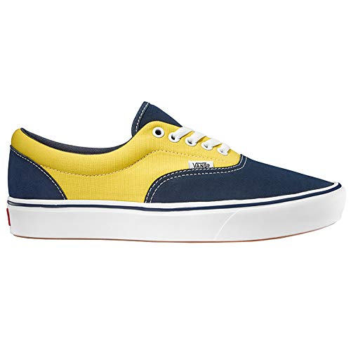Vans ComfyCush Era Schuhe (Suede/Canvas) Dress Blue (Suede Blue Vans)