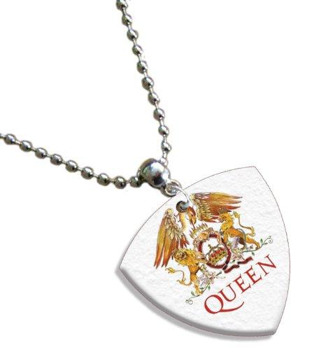Queen Bass (1mm Heavy gauge) Gitarre Pick Plektron Kette -