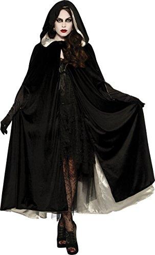 Rubies Reversible Velvet Women Gothic Cape Adult One Size