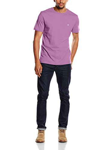 Original Penguin Herren T-Shirt Seasonal Pinpoint Grape Nectar