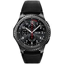Samsung Gear S3 frontier (3,3 cm (1,3 Zoll) Display, NFC, Bluetooth, WLAN, Tizen OS), mit Silikon-Armband