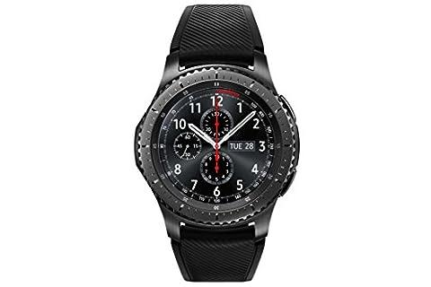 Samsung SM-R760NDAADBT Gear S3 frontier Smartwatch (3,3 cm (1,3 Zoll) Display, NFC, Bluetooth, WLAN, Tizen OS, mit (Galaxy S3 Display Kaufen)