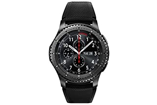 Samsung SM-R760NDAADBT Gear S3 frontier Smartwatch (3,3 cm (1,3 Zoll) Display, NFC, Bluetooth, WLAN, Tizen OS, mit Silikon-Armband) (B01LF0T51I) | Amazon Products