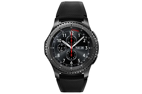 BT Gear S3 frontier Smartwatch (3,3 cm (1,3 Zoll) Display, NFC, Bluetooth, WLAN, Tizen OS, mit Silikon-Armband) ()
