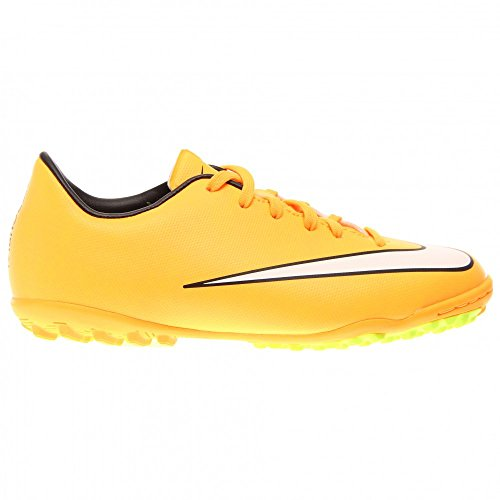 Nike Junior Mercurial Victory V TF Unisex-Kinder Fußballschuhe TEAM ORANGE/WHT-S GRN-ANTHRCT