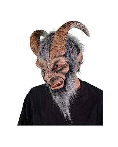 Krampus Hörner-Maske für Halloween & Fasching