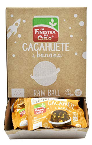 Energy ball cacahuete & banana gluten free - 25 gr.