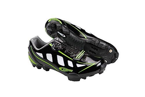 Ges Z300X3700000 Zapatillas de Ciclismo, Hombre, Negro, 37.0