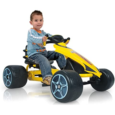 Injusa - Go-Kart Flecha1, color amarillo ( 616000)