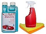 PROKLEAR Waterless Car Wash Kit Concentrate RAW Xtreme CX Carnauba Wax Rinseless /