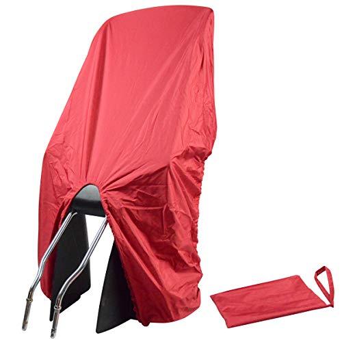 NICE 'n' DRY OHG TROCKOLINO Regenschutz, Abdeckung für Fahrradkindersitze, Farbe:rot