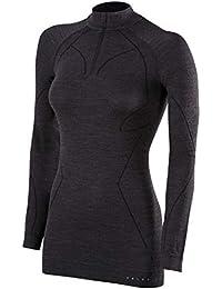 52c81f6322 FALKE Ropa Interior Lana Tech Zip Camiseta Comfort