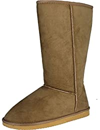 Smith 10 Womens Chunky Heel Lace up Buckle Ankle Booties Camel
