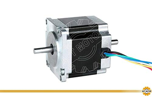 DE-SHIP FREE 1PC 23HS6620B Nema23 Stepper Motor 56mm 180oz-in Round Dual Shaft 2.0A 1.8° unipolar CNC OEM ACT MOTOR GmbH
