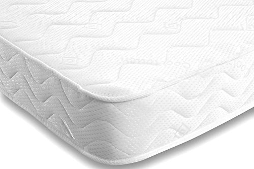 *** LIMITED TIME EXCLUSIVE OFFER ONLY AVAILABLE TO AMAZON CUSTOMERS *** Starlight Beds - Shorty Small Single Mattress. Luxury Shorty Small Single Memory Foam Mattress. Memory Foam and Spring Mattress With Deluxe Knitted Deep Micro Quilted Fabric For a Comfortable Sleeping Area. Fast Free Delivery FBR1102 (3ft x 6ft Long Shorty Single Mattress 90cm x 183cm)