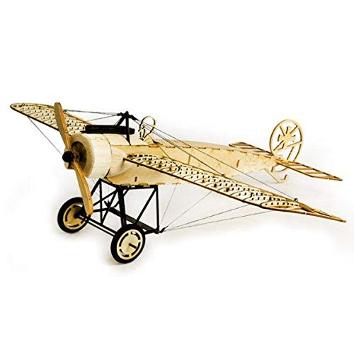 Technq dancing wings hobby fokker-e 410 mm wingspan balsa airplane static model smontato
