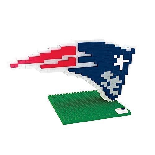 FOCO New England Patriots Logo NFL 3D BRXLZ Bausatz
