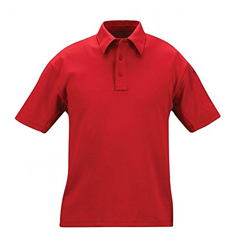 PROPPER Herren I.C.E Long Sleeve Regular Performance Polo Shirt Hellblau