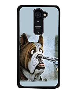 PrintVisa Designer Back Case Cover for LG G2 :: LG G2 Dual D800 D802 D801 D802TA D803 VS980 LS980 (Cartoon picture drawing sketch colourful)