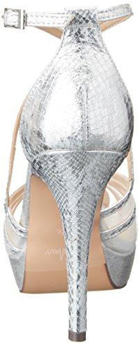 Menbur Jordania, Zapatos Con Plataforma Mujer Plata (plata)