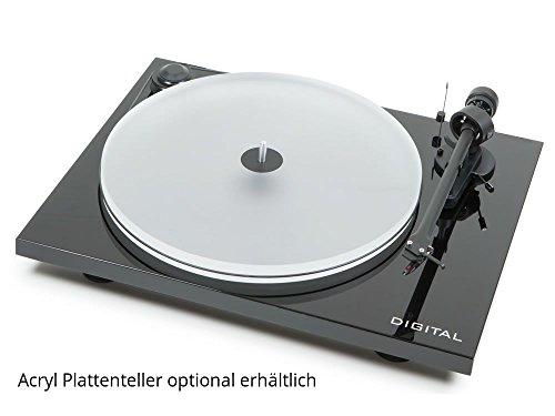 Pro-Ject Platines vinyle hi-fi Essential II Digital Noir laqué