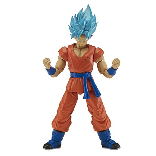 Dragon Ball - 17cm Bleu Figurine - Goku Super Saiyen, 35863, Rose/Noir, 17 cm